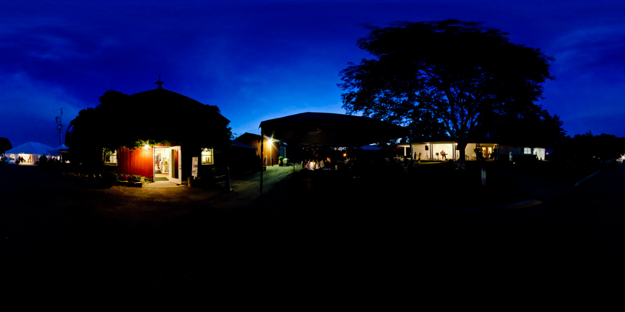 13th street winery at night